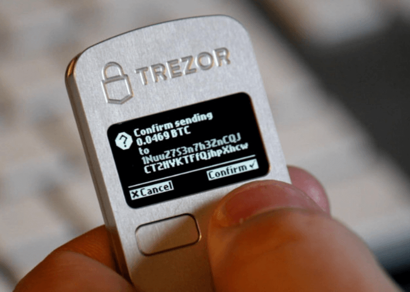 Trezor to Add Support For Cardano ADA on Their Wallet