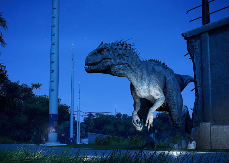 Frontier Jurassic world