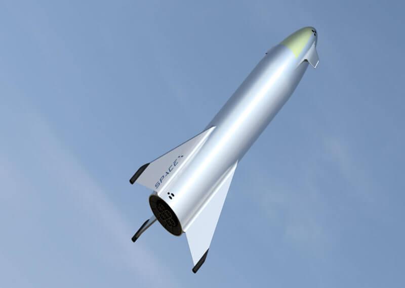SpaceX's next Starship