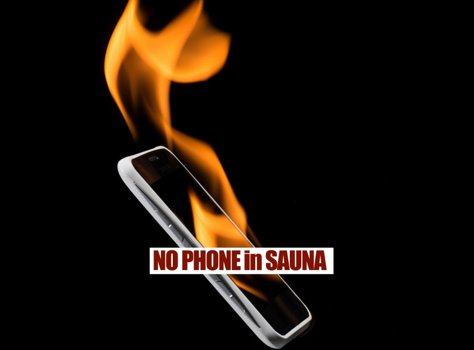 4 Reasons Not To Use iPhone or Android Devices in Infrared Saunas