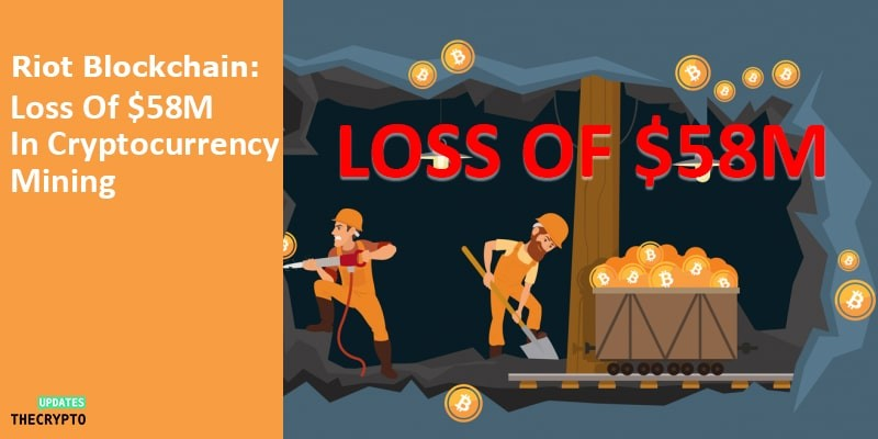 Riot Blockchain Cryptocurrency Mining loss