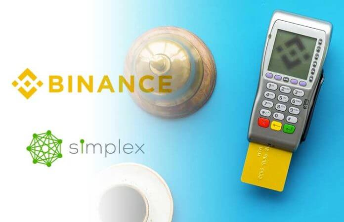 Binance Enables payments for Crypto Purchase