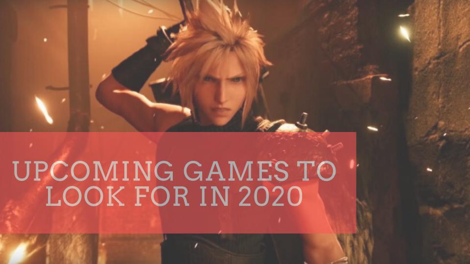 upcoming games 2020
