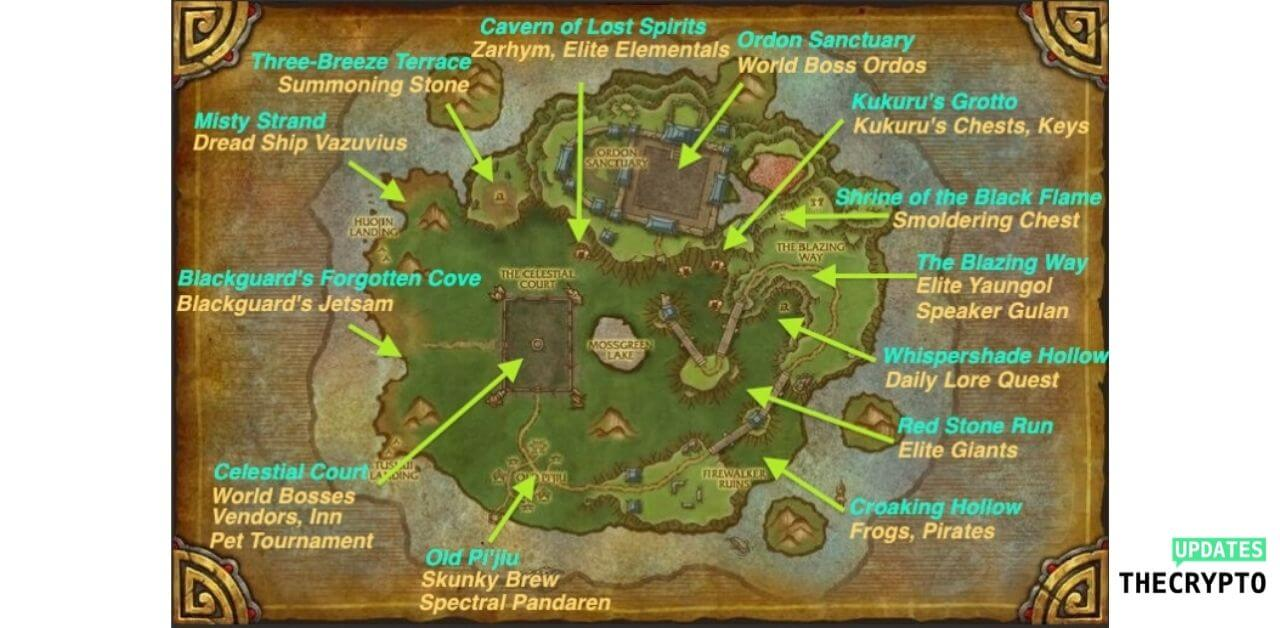 how to get to timeless isle bfa