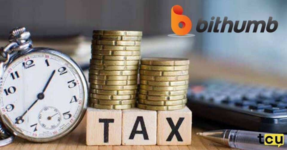 bithumb tax